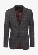 CHECK PARTY - Blazer jacket - dark grey