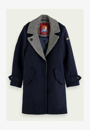 Winter coat - night melange