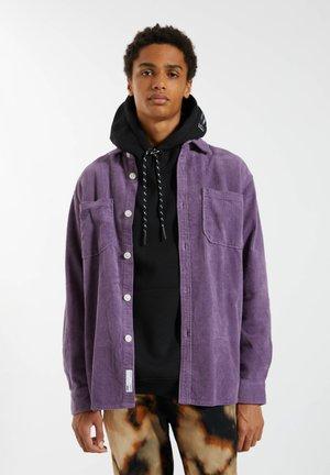 Overhemd - mottled purple