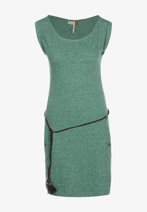 TAG - Jersey dress - dark green