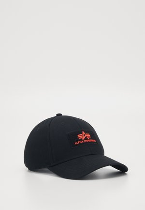 UNISEX - Caps - black/red