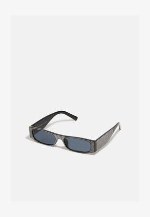 UNISEX - Solglasögon - black rhinestone