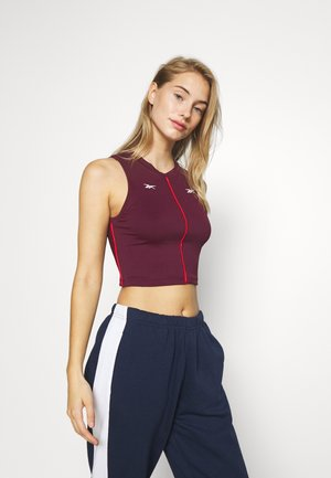 PERFORMANCE TANK - Top - maroon