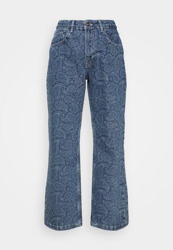 RAPTURE  - Straight leg jeans - mid blue