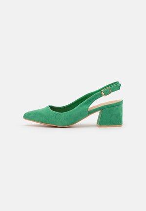 WIDE FIT - Klassiske pumps - green