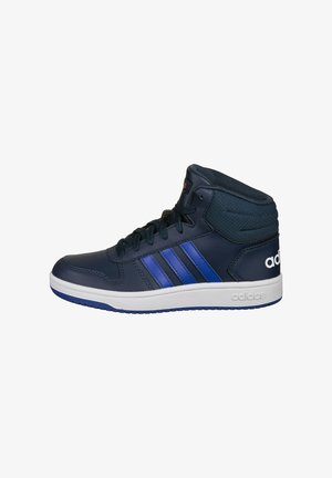 High-top trainers - crew navy