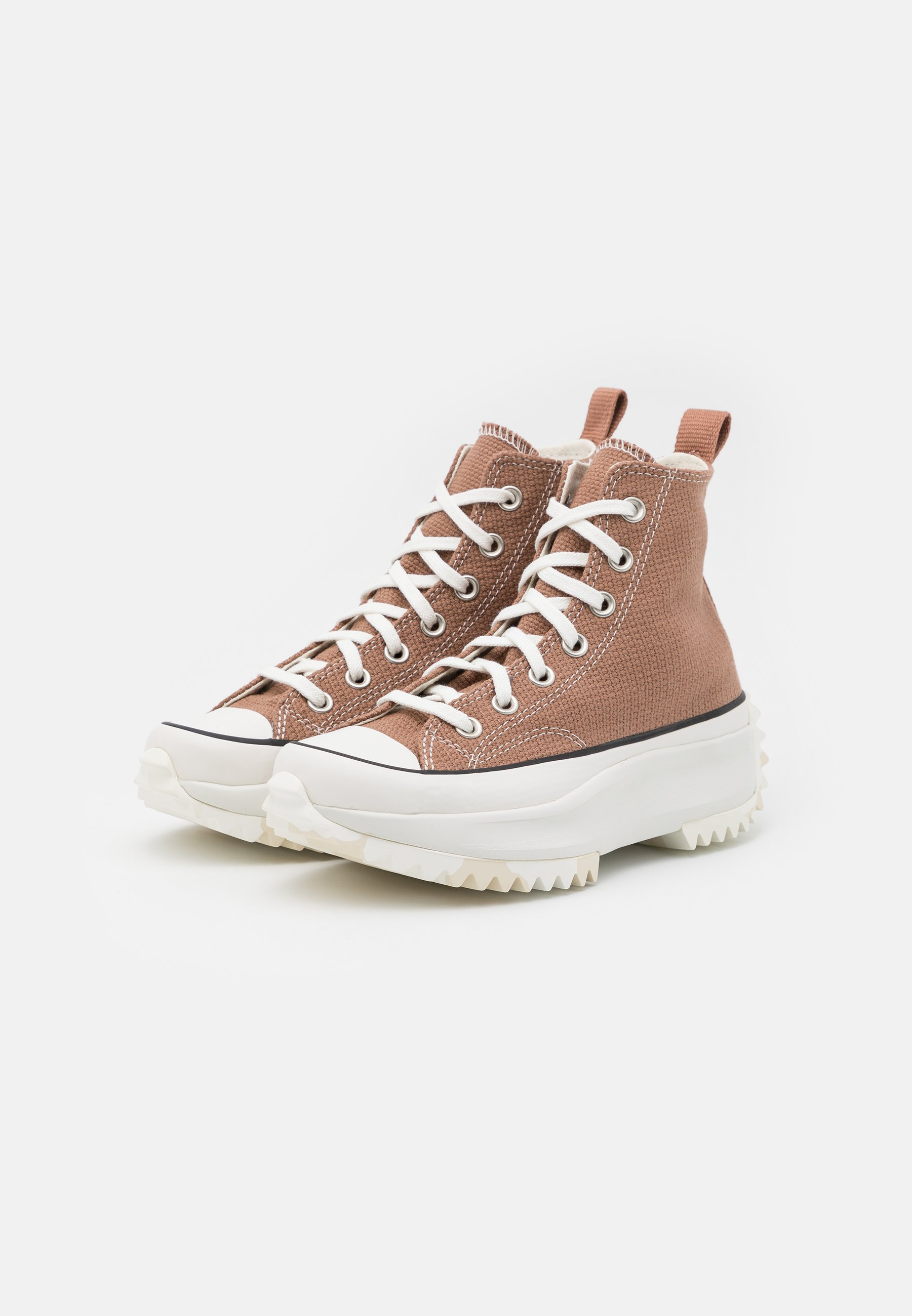 Converse RUN STAR HIKE UNISEX - Sneakers alte - rose taupe/white ...
