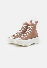 Converse - RUN STAR HIKE UNISEX - Zapatillas altas - rose taupe/white/egret - 1