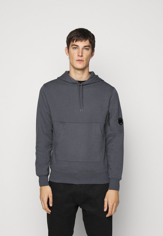 HOODED - Hoodie - ombre blue