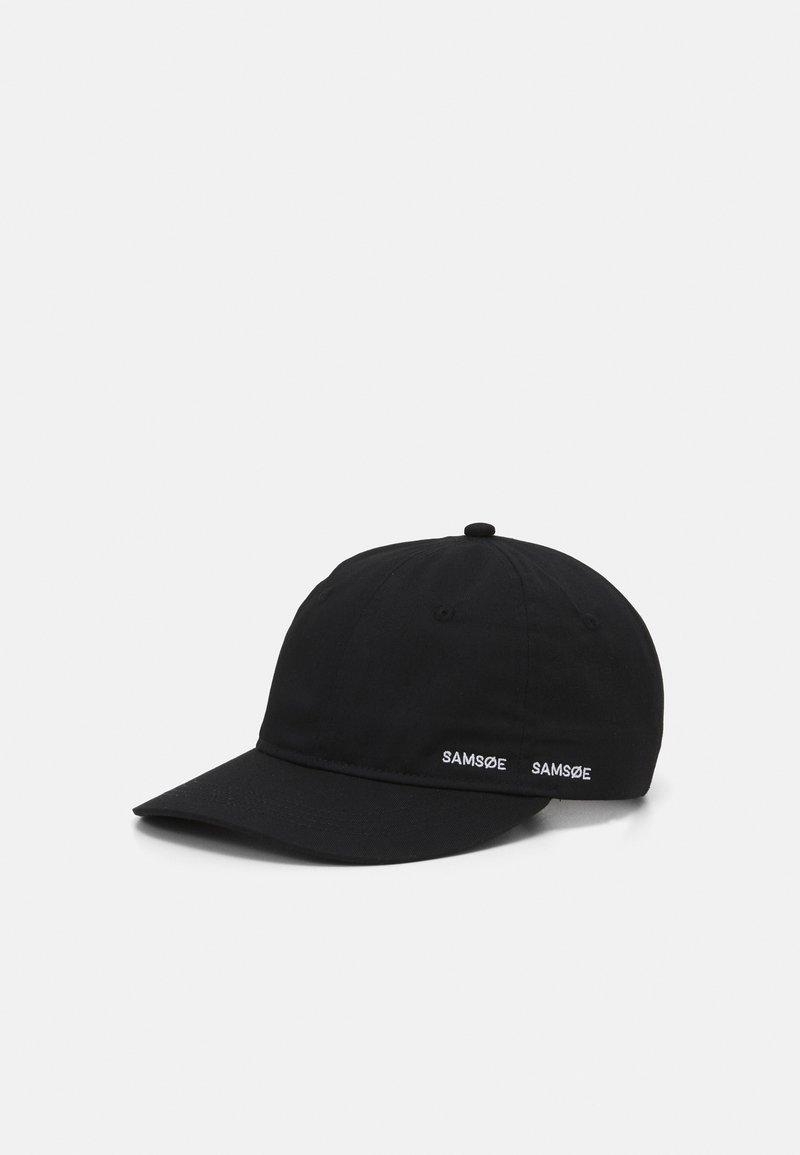 Samsøe Samsøe - ARIBO UNISEX - Cap - black