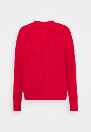 SANNIYYA - Sweter - medium red