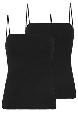 SCARLETT SINGLET 2 PACK - Top - black