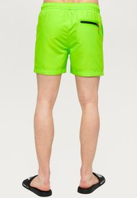 Superdry - BEACH VOLLEY  - Swimming shorts - sunblast green - 2