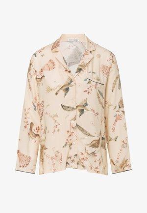 BIRD PRINT  - Pyjama top - beige