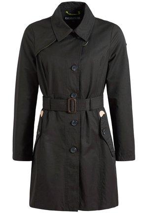 AURORA - Trenchcoat - schwarz