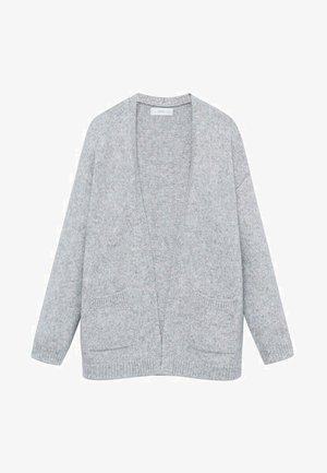 KILIE - Gilet - gris chiné moyen