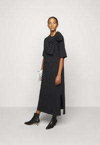 MM6 Maison Margiela - Jersey dress - black - 1