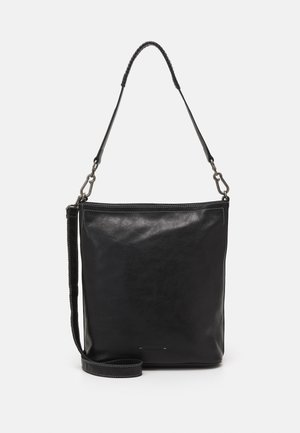CAPTAIN - Handbag - black