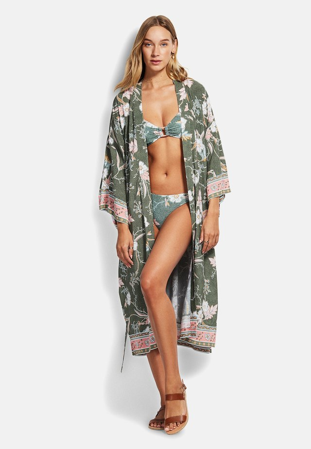 SEAFOLLY BALINESE - Beach accessory - olive leaf