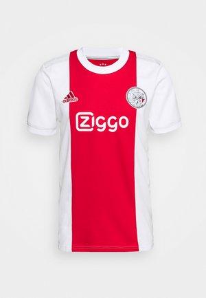 AJAX AMSTERDAM  - Pelipaita - white/team colleg red