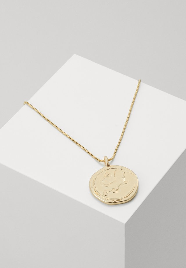 NECKLACE LIBRA ZODIAC SIGN - Naszyjnik - gold-coloured