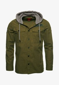 Superdry - UTILITY  - Summer jacket - army green - 4