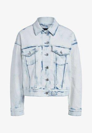 Denim jacket - white blue