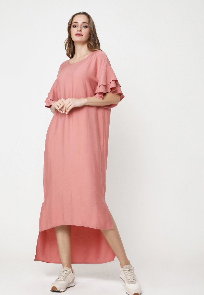 Madam-T - SATINESSA - Maxi dress - pulver