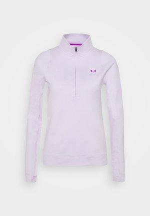 STORM MIDLAYER 1/2 ZIP - Bluzka z długim rękawem - crystal lilac