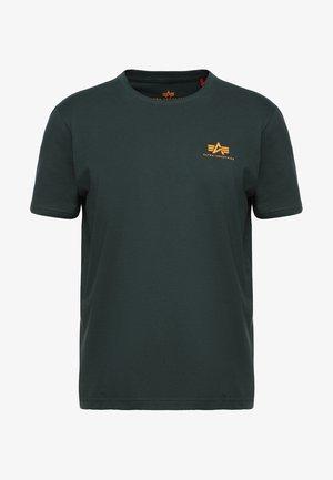 T-shirt print - dark petrol