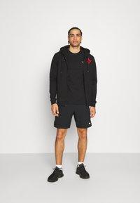 Hummel - ASTRALIS ZIP HOODIE - Zip-up sweatshirt - black - 1
