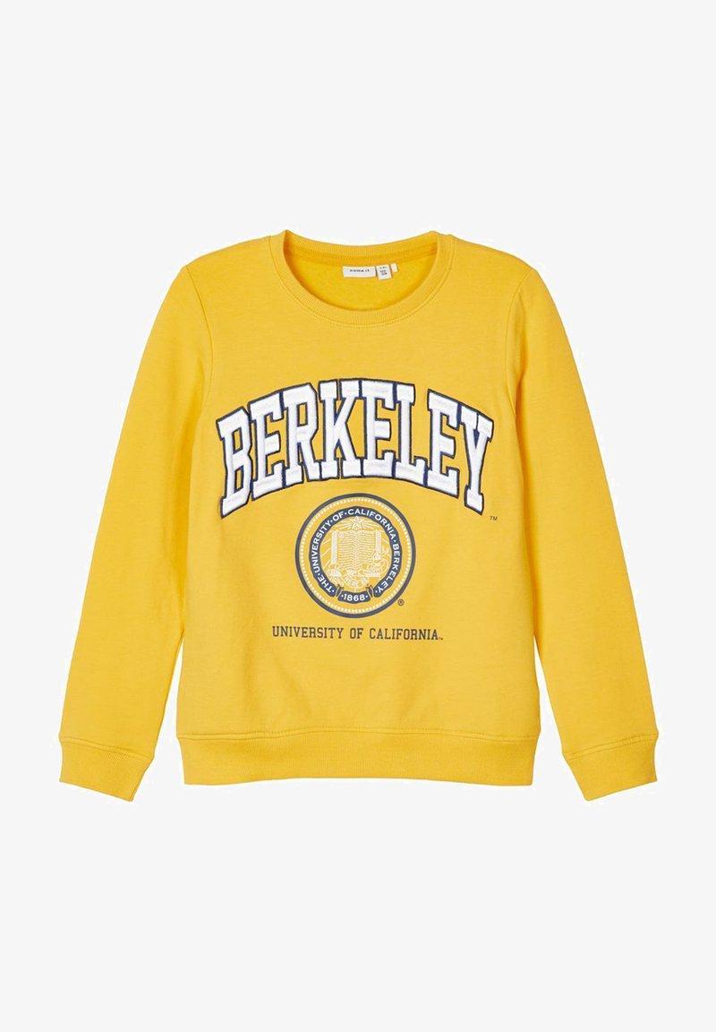Name it - BERKELEY UNIVERSITY - Sweater - spicy mustard