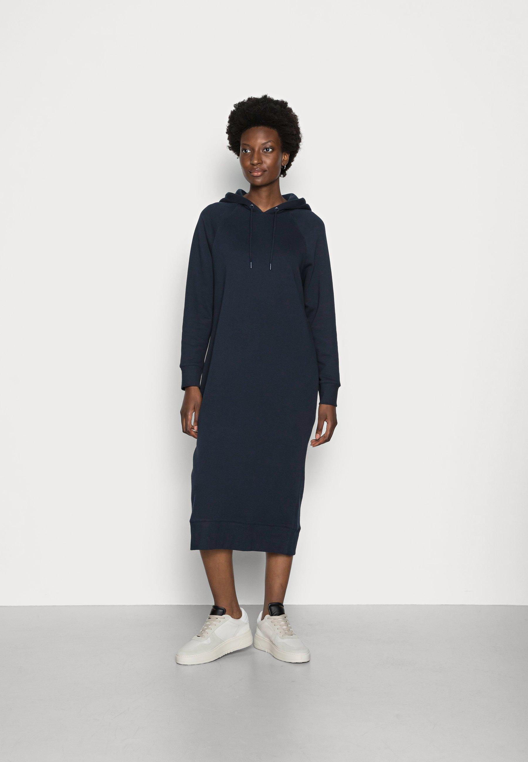 Mujer HOODED DRESS - Vestido informal