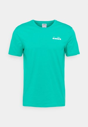 CORE - Basic T-shirt - green deep