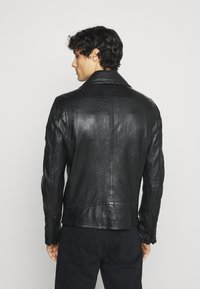 Strellson - PARKS - Leather jacket - black - 2