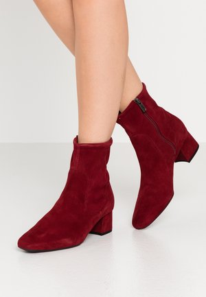 TIALDA - Classic ankle boots - rubi