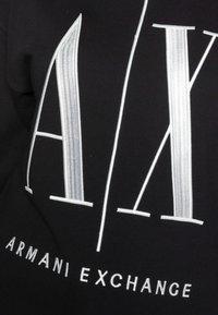Armani Exchange - FELPA - Sudadera - black - 4