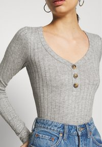 Hollister Co. - Long sleeved top - grey - 4