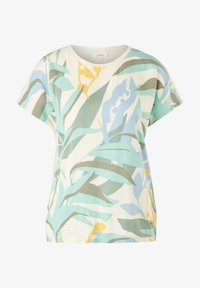s.Oliver - Print T-shirt - mint - 4