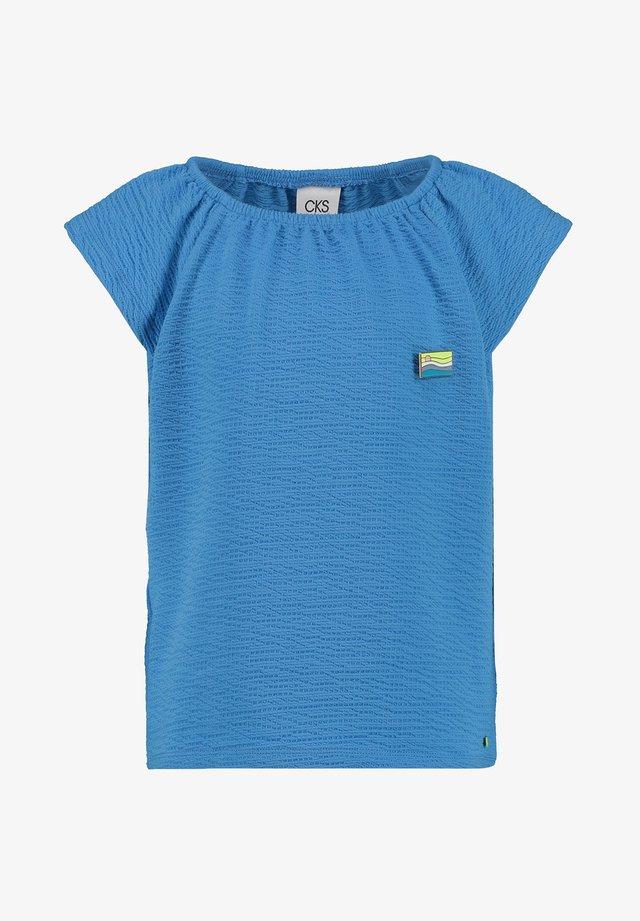 INORA - Basic T-shirt - turquoise