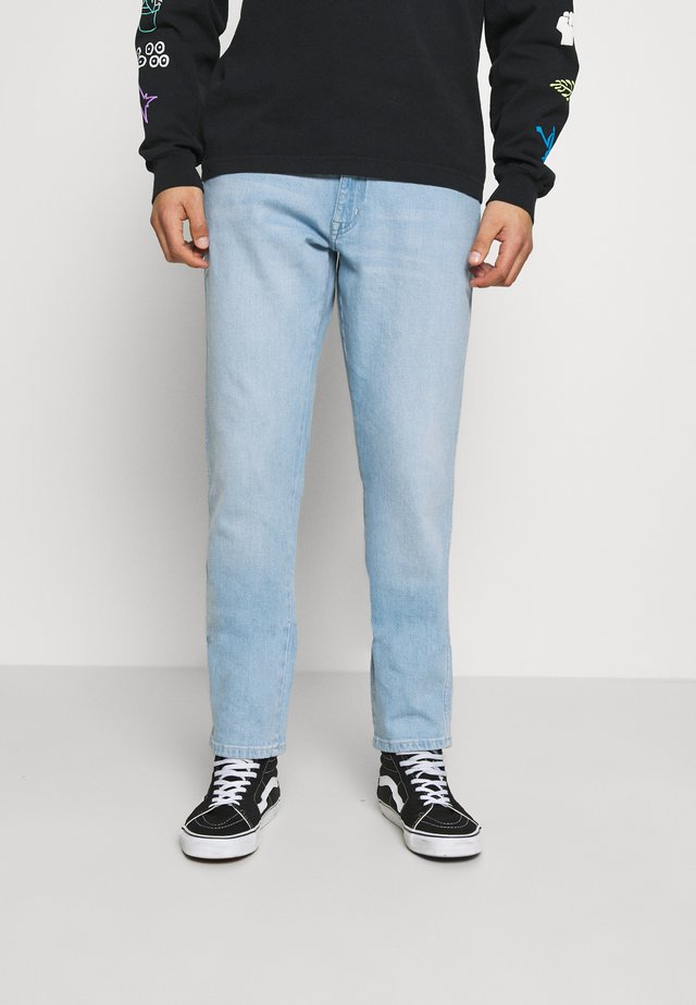 TEXAS TAPER - Džíny Straight Fit - clear blue