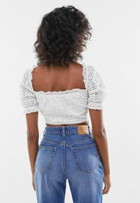 Bershka - WITH BOW  - Blouse - off white - 2