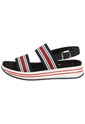 Sandals - navy-weiss-rot/pazifik 14