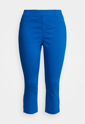 AMBER CROP - Jeggings - cobalt blue