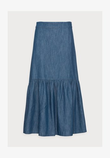SKIRT FLORENCE - Denim skirt - blue