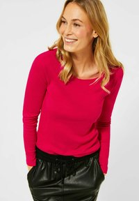 Cecil - Long sleeved top - rot - 0
