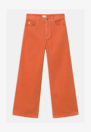 Trousers - orange medium dusty
