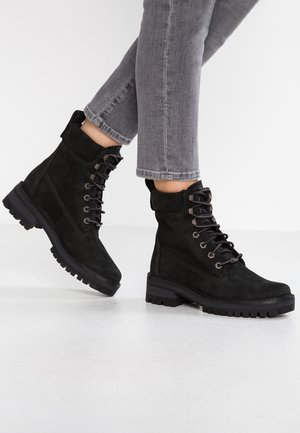 COURMAYEUR VALLEY BOOT - Bottines à lacets - black earthybuck/black charred