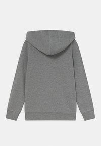 Name it - NKFNASWEAT HOOD - Zip-up sweatshirt - grey melange - 1