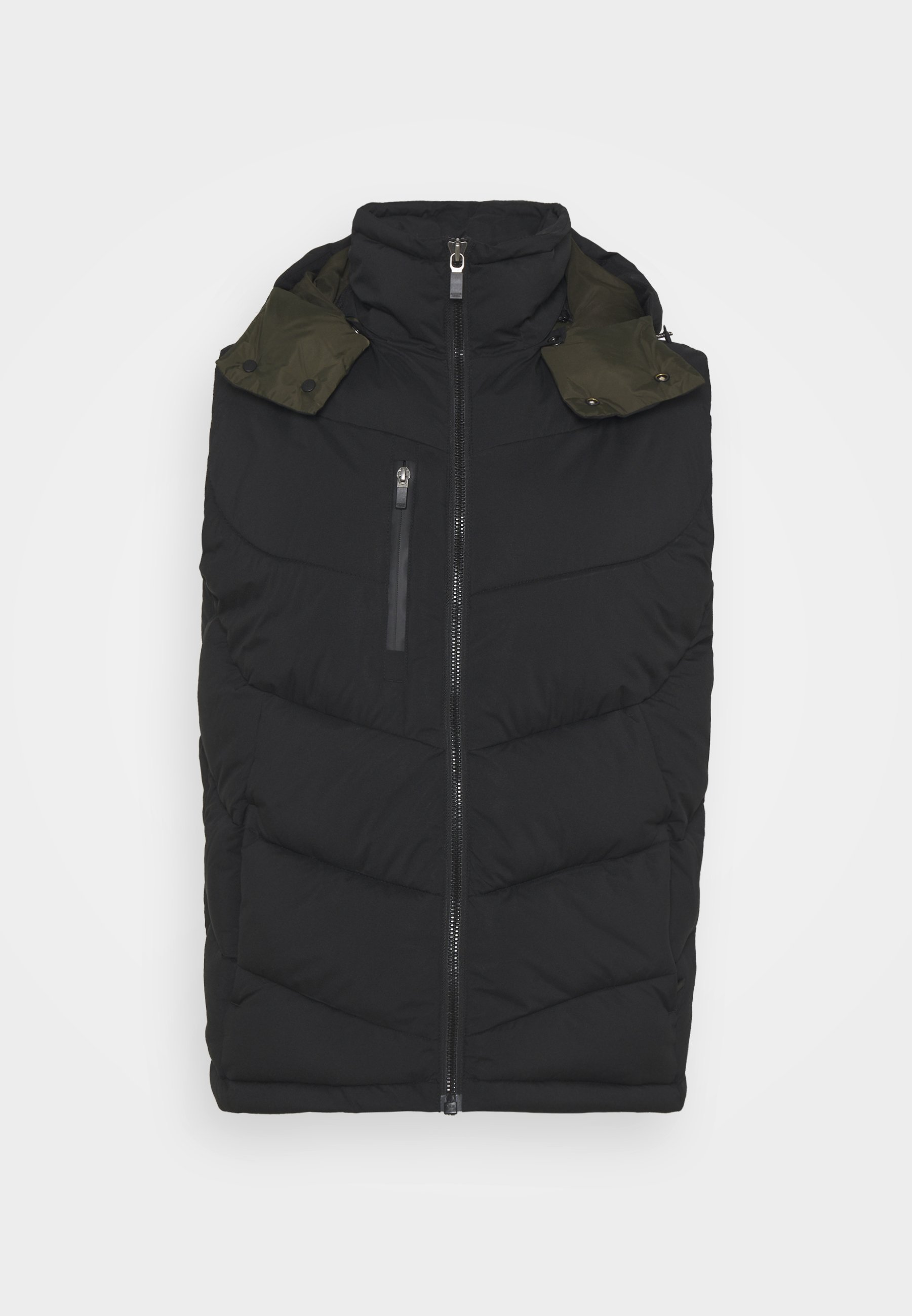 Homme QUILTED HOODED BODYWARMER - Veste sans manches